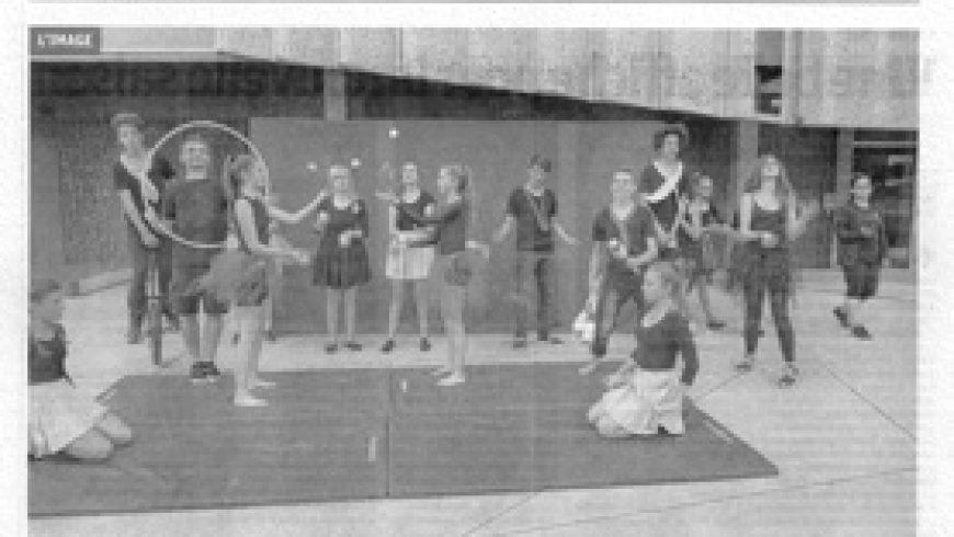 Les écoles de cirque font le show à saint-Dié