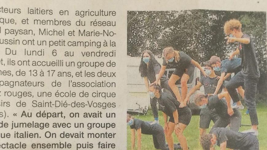 Séjour ados Normandie été 2020